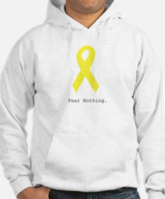 Yellow. Fear Nothing Hoodie