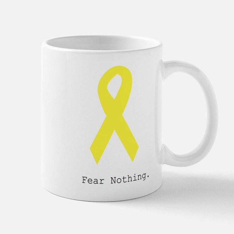 Yellow. Fear Nothing Mugs