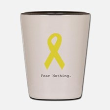 Yellow. Fear Nothing Shot Glass