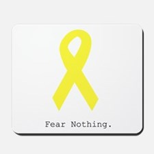 Yellow. Fear Nothing Mousepad