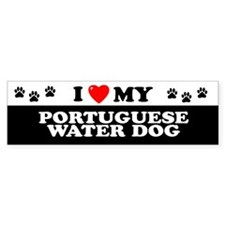 PORTUGUESE WATER DOG Bumper Bumper Sticker