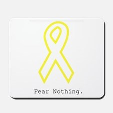 Yellow Out. FearNothing Mousepad