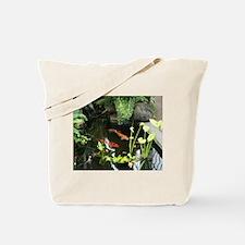 Serene Koi Pond Tote Bag
