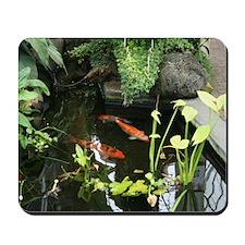 Serene Koi Pond Mousepad
