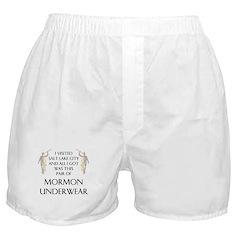 Magical Male Mormon Undergarments