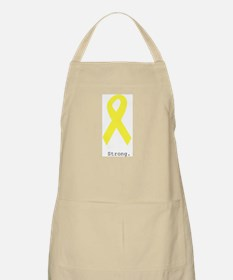 Yellow. Strong. Apron