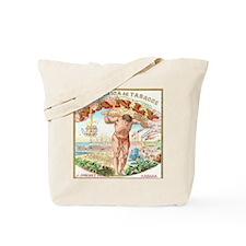 Manly Cigars Vintage Ad Tote Bag