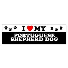 PORTUGUESE SHEPHERD DOG Bumper Bumper Sticker