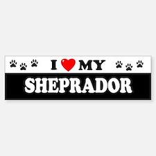 SHEPRADOR Bumper Bumper Bumper Sticker
