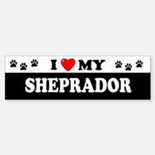 SHEPRADOR Bumper Car Car Sticker