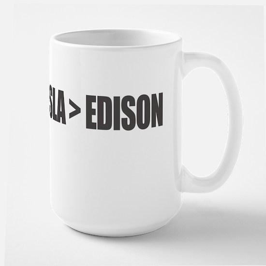 Tesla Edison Mugs