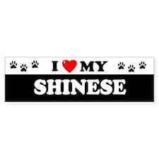 SHINESE Bumper Bumper Sticker