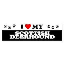 SCOTTISH DEERHOUND Bumper Bumper Sticker