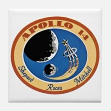 Apollo XIV Tile Coaster
