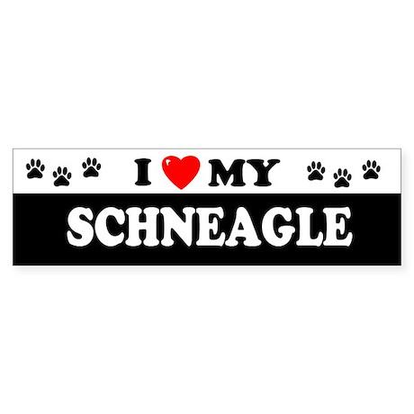 SCHNEAGLE Bumper Sticker