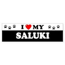 SALUKI Bumper Bumper Sticker