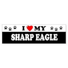 SHARP EAGLE Bumper Bumper Sticker