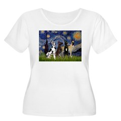 Starry / 4 Great Danes T-Shirt