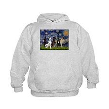 Starry / 4 Great Danes Hoodie