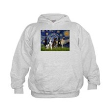 Starry / 4 Great Danes Hoody