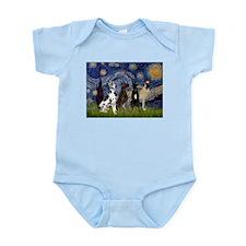Starry / 4 Great Danes Infant Bodysuit