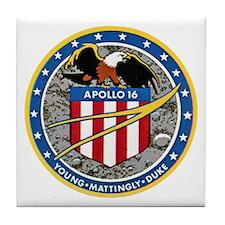 Apollo XVI Tile Coaster
