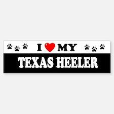 TEXAS HEELER Bumper Bumper Bumper Sticker