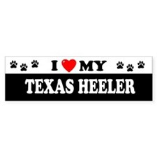 TEXAS HEELER Bumper Bumper Sticker