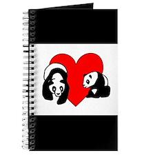Panda Bear Love Journal