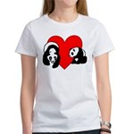 Panda Bear Love Women's T-Shirt