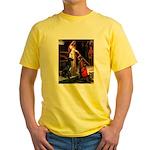 Accolade / Gr Dane (bl) Yellow T-Shirt