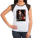 Accolade / Gr Dane (bl) Women's Cap Sleeve T-Shirt
