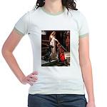 Accolade / Gr Dane (bl) Jr. Ringer T-Shirt