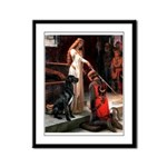 Accolade / Gr Dane (bl) Framed Panel Print