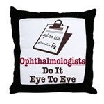 Ophthalmology Ophthalmologist Eye Doctor Throw Pil