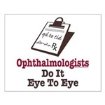 Ophthalmology Ophthalmologist Eye Doctor Small Pos