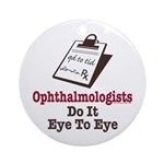 Ophthalmology Ophthalmologist Eye Doctor Ornament