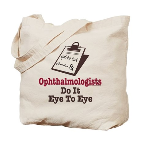 Ophthalmology Ophthalmologist Eye Doctor Tote Bag