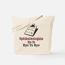 Ophthalmology Ophthalmologist Eye Doctor Tote Bag