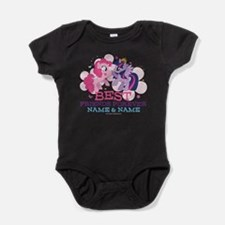 MLP Best Friends Forever Personalize Baby Bodysuit