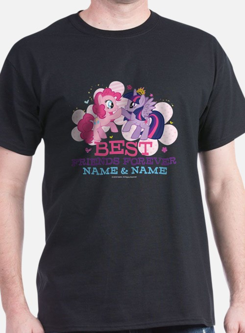 MLP Best Friends Forever Personalized T-Shirt
