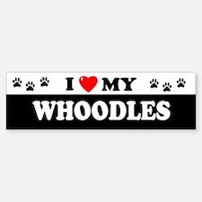 WHOODLES Bumper Bumper Bumper Sticker