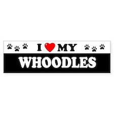 WHOODLES Bumper Bumper Sticker