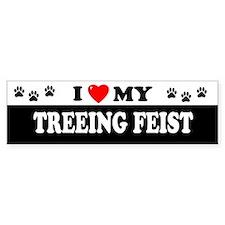 TREEING FEIST Bumper Bumper Sticker