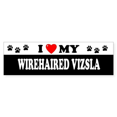 WIREHAIRED VIZSLA Bumper Sticker