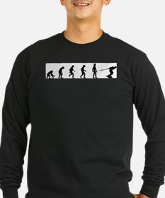Evolution of Wakeboarding Long Sleeve T-Shirt