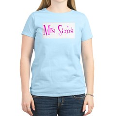 Mrs Sims Women's Light T-Shirt