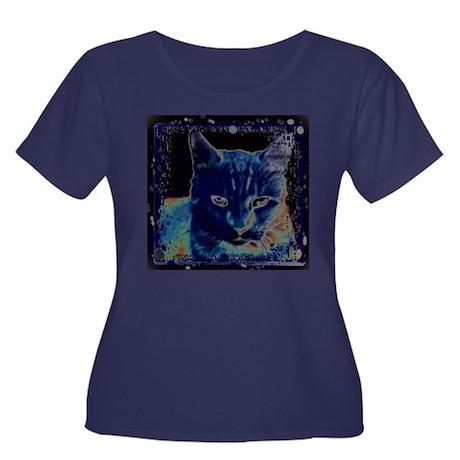 Paranormal Pussycat Plus Size T-Shirt