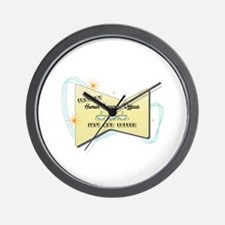 Instant Human Resources Officer Wall Clock