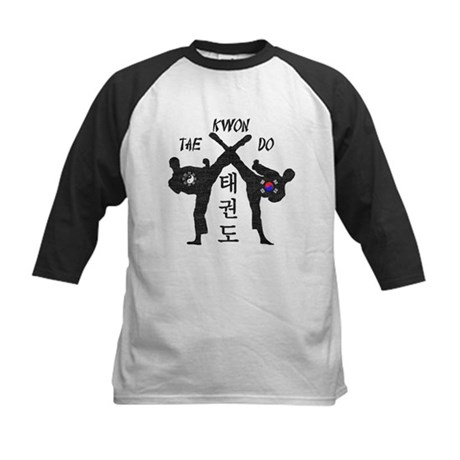 Tae Kwon Do III - Vintage Kids Baseball Jersey